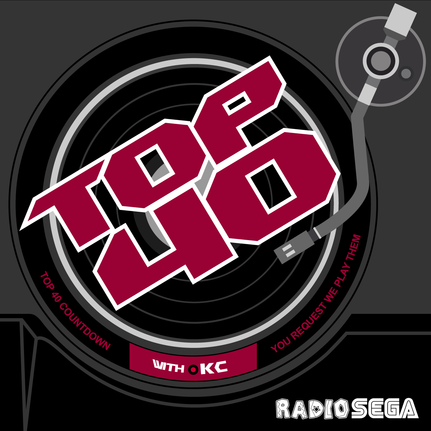 RadioSEGA's Top 40 Countdown