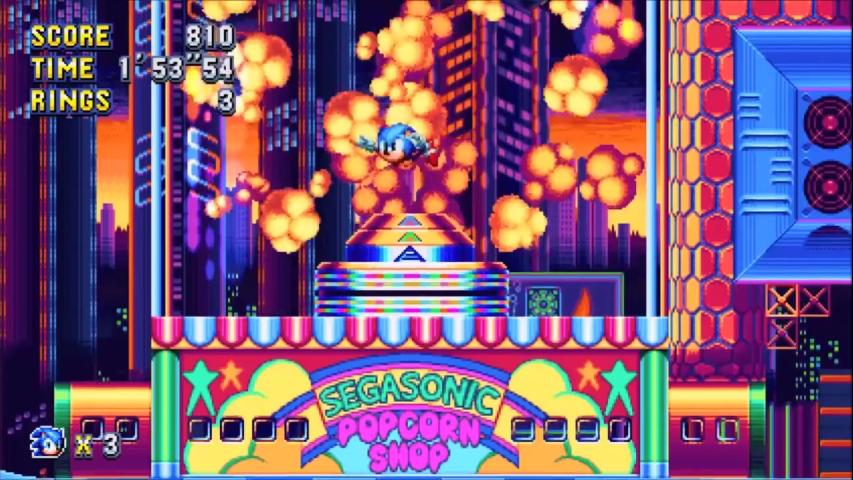 Sonic Mania Review - PS4 - Dreamcast-Talk com